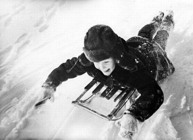 детская зимняя горка в Кемеровской области